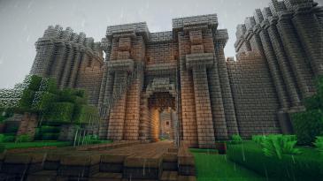 minecraft-castle-gateminecraft-castle-portcullis-medieval