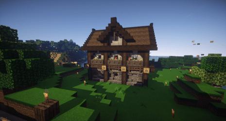 Houses: Better builds PirateCraft