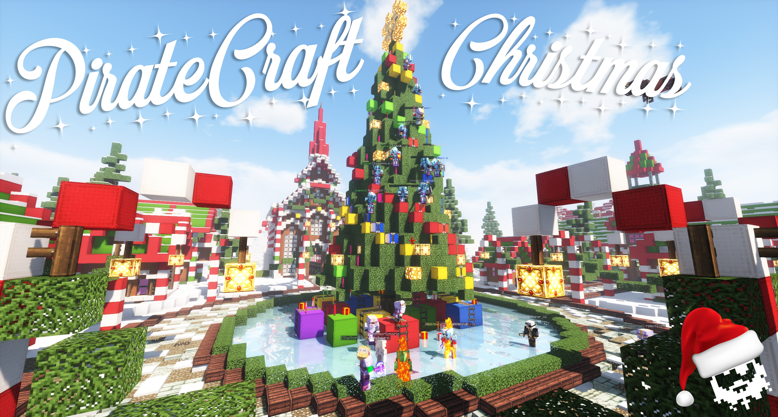 Minecraft Christmas.Splice The Mainbrace Its A Pirate Christmas Piratecraft