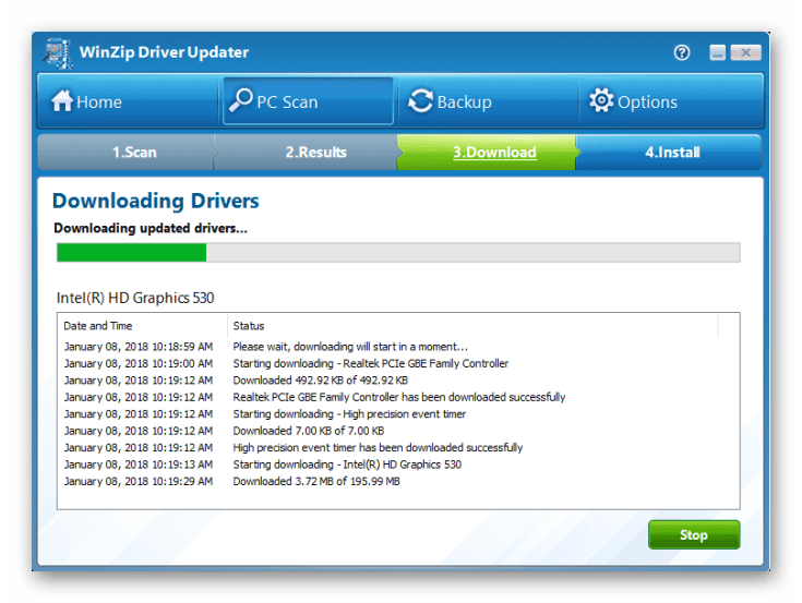 WinZip Driver Updater Registration Code
