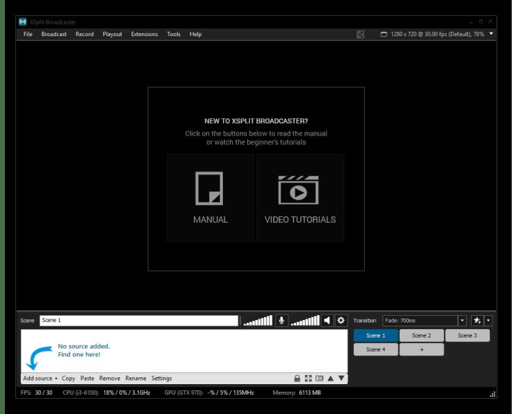 XSplit Broadcaster Premium Crack