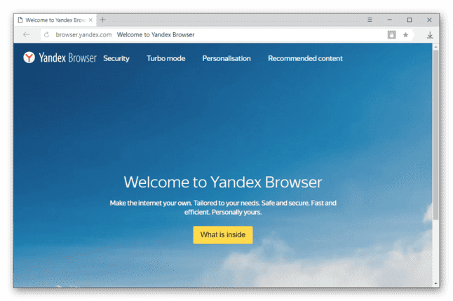Yandex Browser Free Download