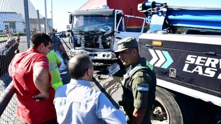 Mayo de 2017: tiroteo entre piratas del asfalto y policìas en la autopista Ricchieri. Foto: Télam.