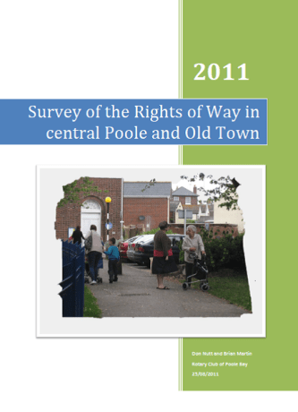 2010-11 Report on rights of way in centraal Poole