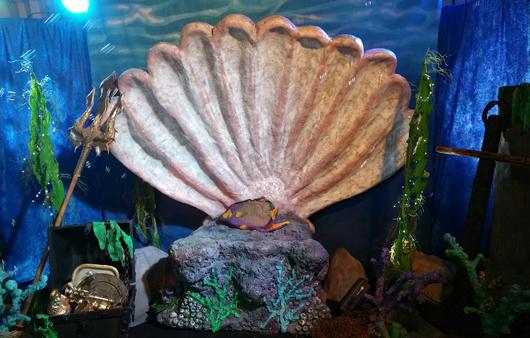 Undersea theme party