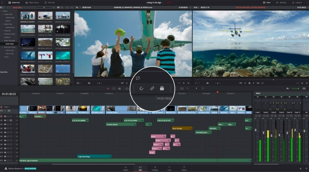 DaVinci Resolve Studio 15 Crack Multi Version 2019 Free Download