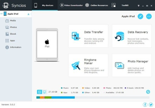 Syncios Manager 6.6.1 Crack [mac + win] Activated Free Download