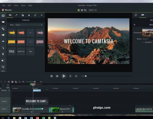 Camtasia Studio cracked 2021