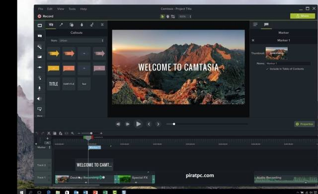 Camtasia Studio cracked 2021
