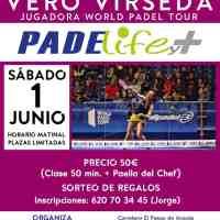 Clinic de Padel en Padelife y+ Ainsa con Vero Virseda (World Padel Tour) 1 de Junio
