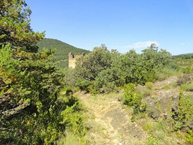Ultimos tramos del sendero hacia la Torre del Moro