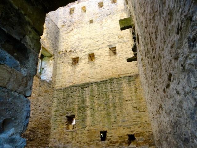 Interior de la Torre del Moro