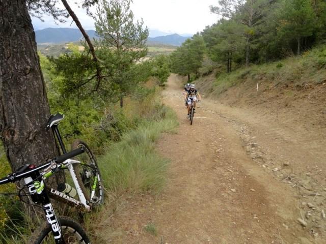 Subida en el Camino Santiago