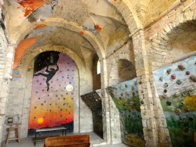 Uso actual de la antigua Iglesia de Ibort
