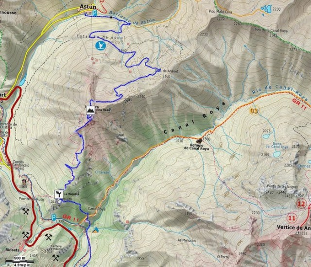 Mapa detalle Tramo 01