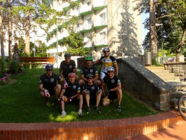 Foto de grupo de la salida