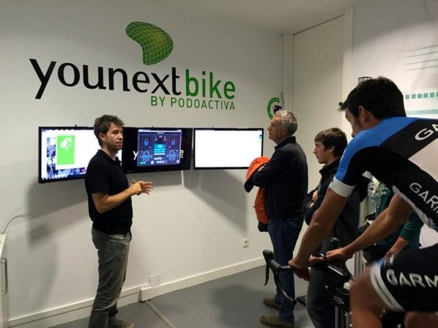 Diferentes gráficas en tiempo real para medir la eficacia del pedaleo