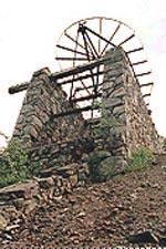 Restos de la explotación minera de Bielsa