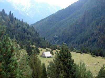 Refugio de Montinier, cerca de Ordesa (Pineta)