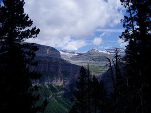 Vistas desde la Faja Pelay - Ordesa