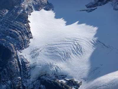 Detalle del Glaciar de Monte Perdido, ordesa
