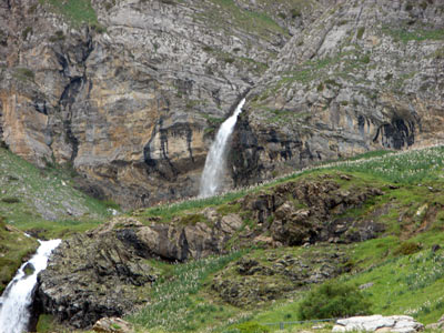 Cascada en Ordiso
