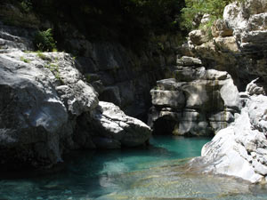 Mirabal - ordesa - río yaga -zona de escuaín