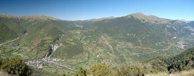 Valle de Broto, entrada a Ordesa