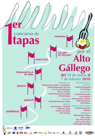 cartel concurso tapas alto gallego