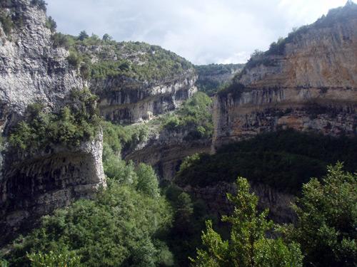 río vero, escenario donde se ubican las pinturas rupestres