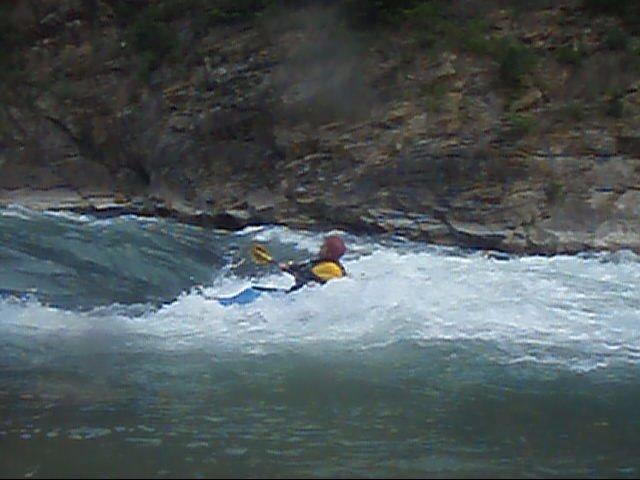 kayak en el gállego