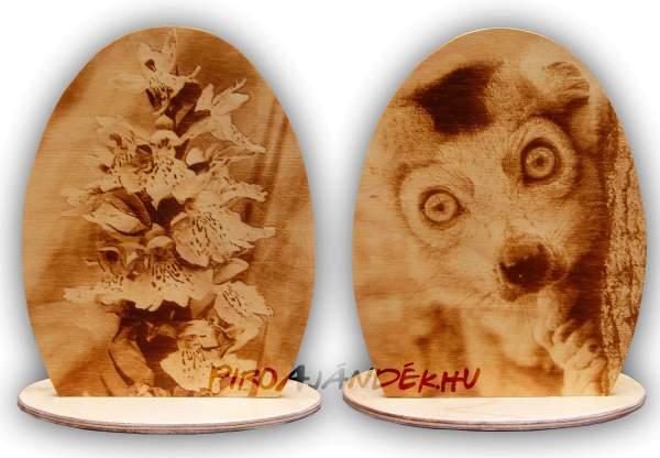 Égetett egyedi fényképes váza