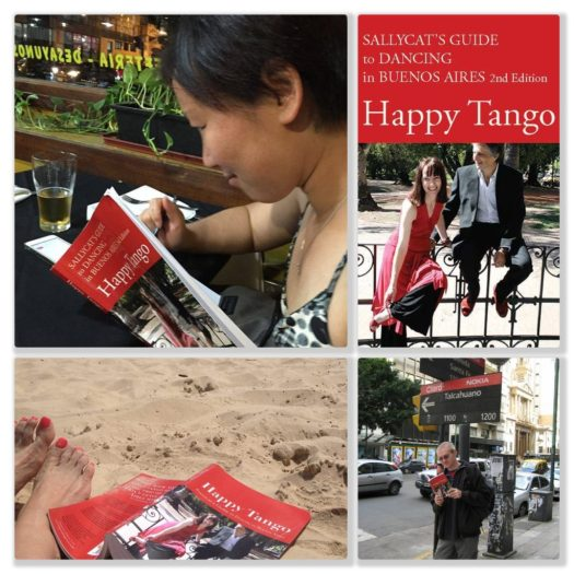 Happy Tango readers in Buenos Aires and on the beach