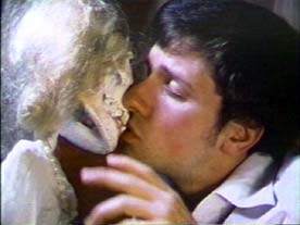 A Polish Vampire in Burbank Pirromount Studios - Mark Pirro as Dupah kissing the remains of his girlfriend.
