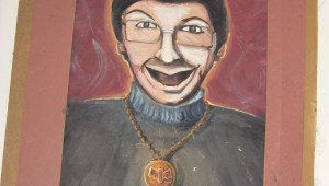 "Portrait of actor Eddie Deezen used in Pirromount's ""A Polish Vampire in Burbank"" (1983)"
