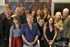 """Cast and crew at the premiere of Pirromount's """"Rage of Innocence"""" (2014)"""