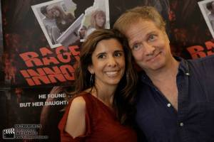 Pirros on the red carpet for Pirromount's Rage of Innocence (2014)