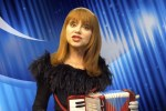 "Judy Tenuta and her accordion in Pirromount Web Series ""The World Accordion to Judy"""