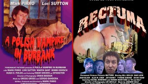 Posters for Polish Vampire in Burbank and Rectuma - Two Mark Pirro films
