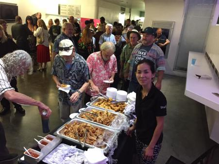 Pirromount Celluloid Soul Screening catering
