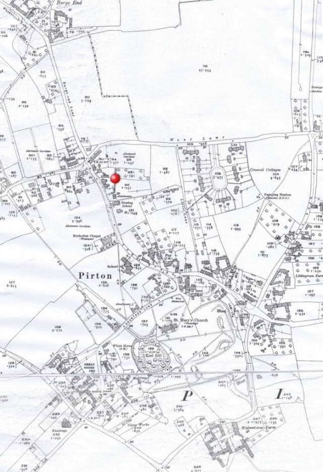 1924 Ordnance Survey map