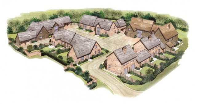 The proposed plans for the second phase of houses.