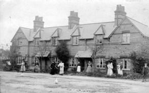 Photo of Palmers Row taken circa 1910
