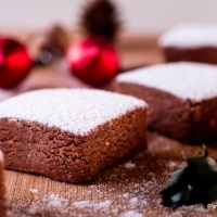 Polvorones de almendra y cacao