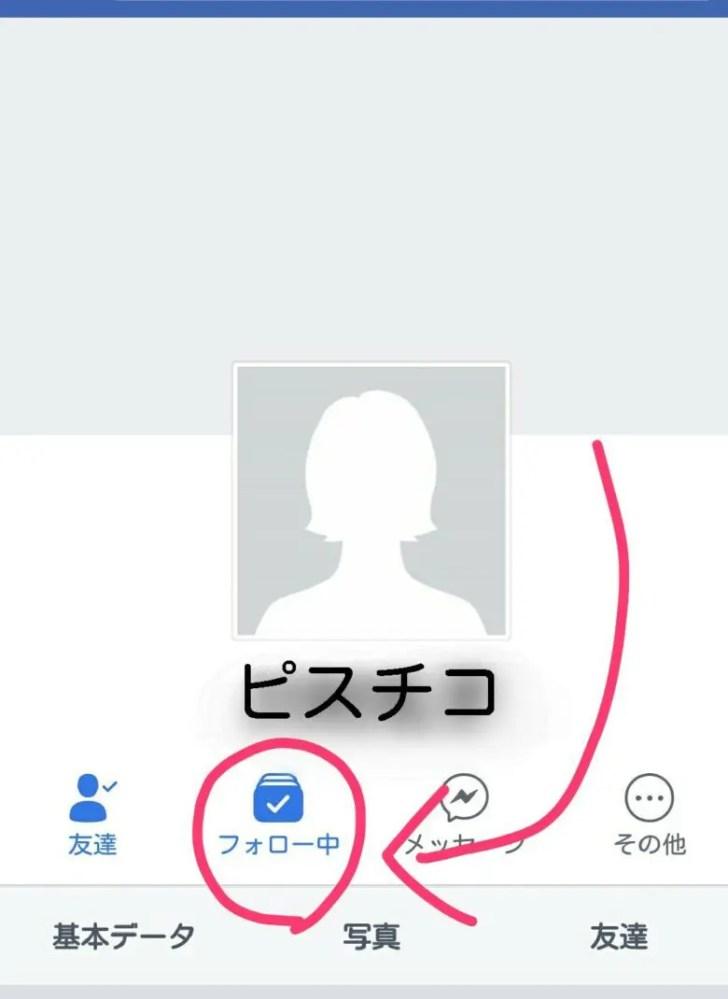 Facebookのプロフィール