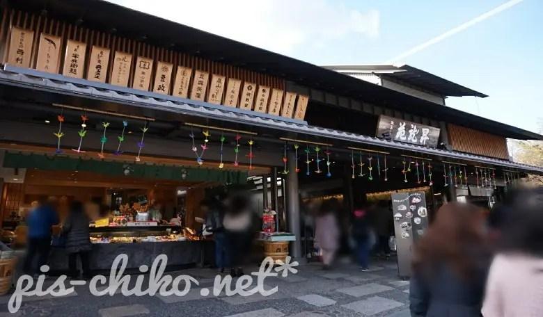 京都嵐山のお店