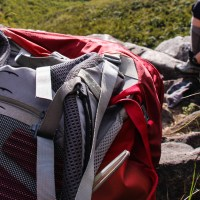 mochila para trekking