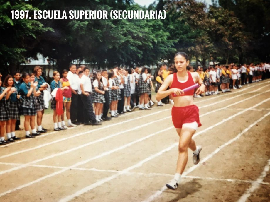 Pisadas running en High School