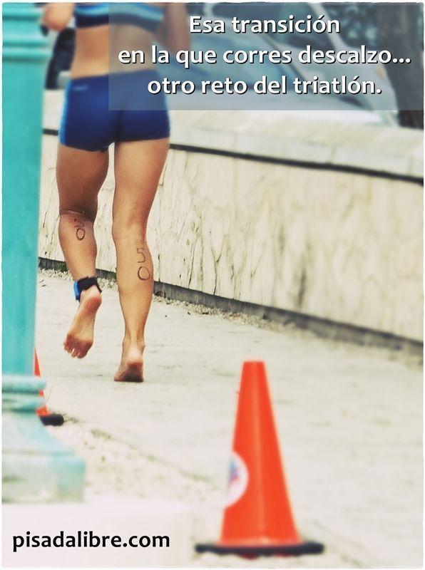 transición triatlón