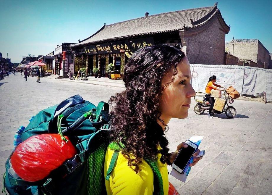 De mochila por China